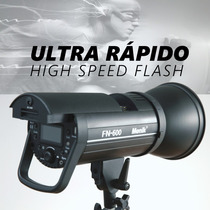 Flash Menik Fn-600 P/ Nikon D7100 D7200 D90 D3300 D5500 D610