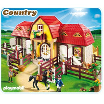 Playmobil 5221 Granja De Ponis Con Establo Envio Gratis