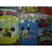 Cajitas Golosineras Bombones Mickey Bebe X 10