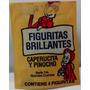 Figuritas Caperucita Roja Y Pinocho Brillantes 50paq + Album