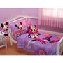 Set Edredon Y 2 Sabanas Y Funda De Almohada De Minnie Mouse