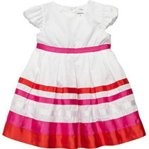 Vestido De Fiesta Carters Talla 6 Meses