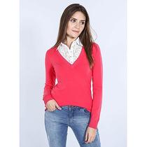 Blusa Tricot Feminina Facinelli - Pink