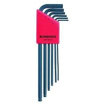 Bondhus 10946 Conjunto De 6 Balldriver L-llaves Tamaños 1.5-