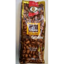 Cafe En Grano Super Cabrales Tostado Espresso De 1 Kg