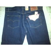 Pantalon Levis Panameño De Botones Talla 38 Para Caballeros