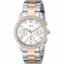 Relógio Feminino Guess W0122l1 Pulseira Aço