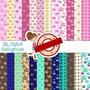 Kit Imprimible Pack Fondos Coronas Princesa Rey Clipart