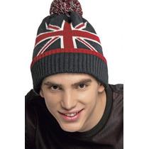 Gorro De Londres Bandera Britanica. Para El Frio, Nuevo.