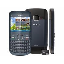 Celular Económico Nokia C3 Unefon, Iusacell,