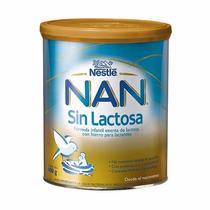 Nestle Nan Leche En Polvo 400 Gr Para Bebes Sin Lactosa