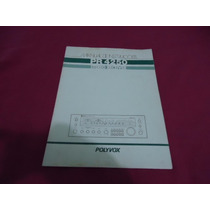 Manual Receiver Polyvox Pr4250 - Cópia Encadernada