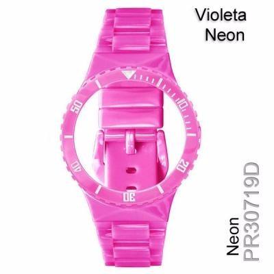 a43efb30cd3 Pr30719d Pulseira Champion Avulsa Violeta Neon Rosa Chiclete - R  26 ...
