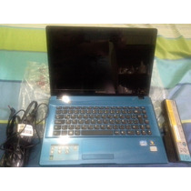 Laptop Lenovo Ideapad Z470 Inteli3/320gbdd/14 /3gbram-cambio