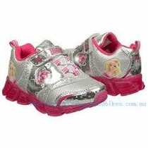 Zapatos Barbie Con Luces - Importados