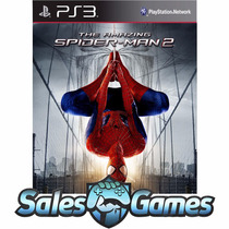 Ps3 - Homem Aranha 2 - The Amazing Spider Man - Psn Envio Já