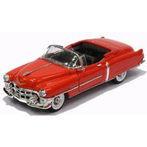 Miniatura Cadillac Eldorado Conversível 1953 Vermelha