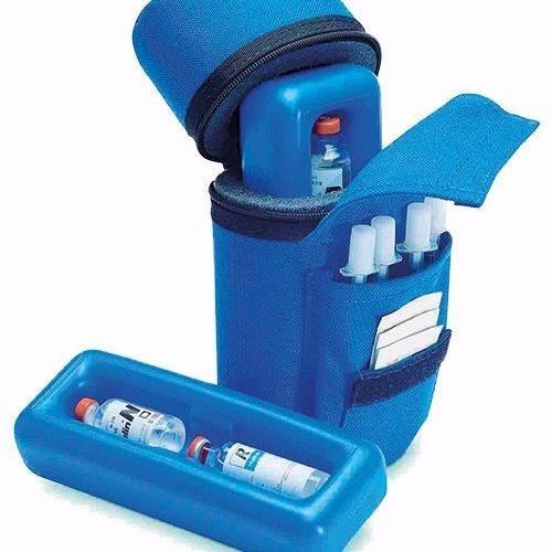 Bolsa De Transporte De Insulina : Bolsa termica transporte insulina viagem diab?ticos azul