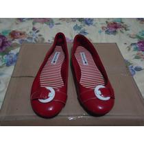 Flats Casuales American Eagle 100% Originales Rojos 3 Mex.