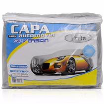 Kit C/2 Capa Cobrir Carro P M G Forrada 100% Impermeável