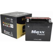 Bateria Maxx Ytx12-bs Dl650/v Strom/vz 800/marauder/cbr 1100