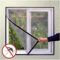 Tela Mosquiteira Com Velcro Adesivo-sob Medida 100 X 100