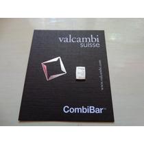 Lingote De Plata 0.999, 1 Gramo Valcambi