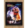 Quadro Poster De Volta Para O Futuro 2 Filme Clássico Cinema