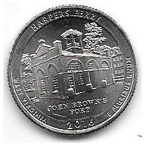 5 Monedas Estados Unidos Parques Nacioneales Año 2010 A 2016