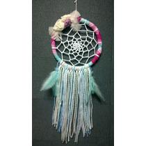 Atrapasueños Color, Shabby Chic Souvenirs, Boho 18 Cm
