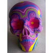 Cráneos / Calaveras / Calacas De Yeso Diseños Únicos