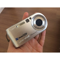 Câmera Sony Cybershot 7.2 Megapixels + Cartão De Memória 4gb