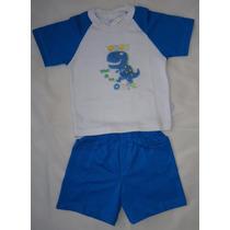Terno Ropa Para Bebes Niños Camisa Y Short Talla 18-24 Meses