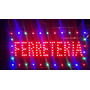 Cartel Luminoso Led Palabra Ferreteria 48 X 25