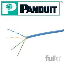 Panduit Bobina Cable Red Utp 5e 305 M 24awg Cobre Azul