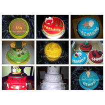 Tortas,cupcake, Galletas, Gelatina Y Recuerdos Para Santeros