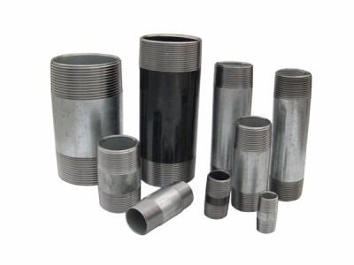Niples de acero negro y de acero inoxidable con costura - Tubo pvc sanitario ...