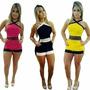 Macacão Macaquinho Lançamento Blogueira Novo Moda Feminina