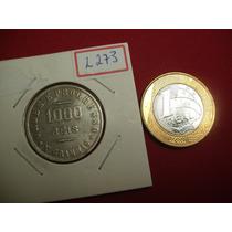 Moeda De 1000 Réis De Prata 1907 - X Grammas - P687 - L273