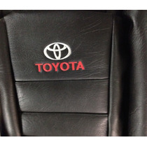Funda Cubre Asiento Toyota Hilux D/c 2016 Apoya Brazo Negro