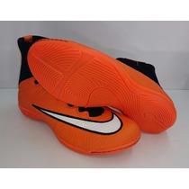 Tênis Futsal Nike Cano Alto Longo - Futebol De Campo Society