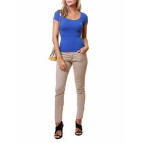 Camiseta Gola Careca Polo Club Azul Tam G - Camisa Regata