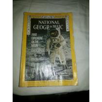 Revista National Geographic 1969 Em Inglês