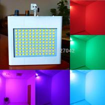 Strobo 108 Leds Rgb Camera Lenta Sonoro - Efeitos Coloridos
