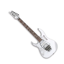 Guitarra Eléctrica Ibañez Steve Vai Zurda Blanca Jemjrl Wh