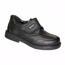 Zapato Colegial Marcel Cuero Abrojo Varón34/40niz´s Calzados