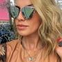Oculos De Sol Feminino Mirrored Famosas Moda Blogueira +case