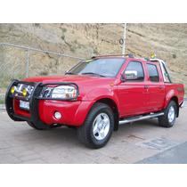 Nissan Frontier Doble Cabina Equipada, Mod. 2013, Color Rojo