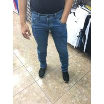 Pantalon Caballero Jeans Varios Colores Corte Slimfit