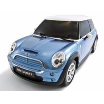 Carro Controle Remoto Mini Cooper S Azul 1:14 Rastar